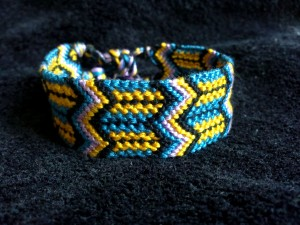 18 strings friendship bracelet