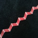 Zig Zag Pattern Friendship Bracelet | Pink