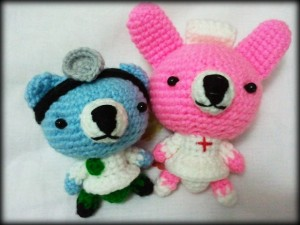 Amigurumi - Doctor and Nurse